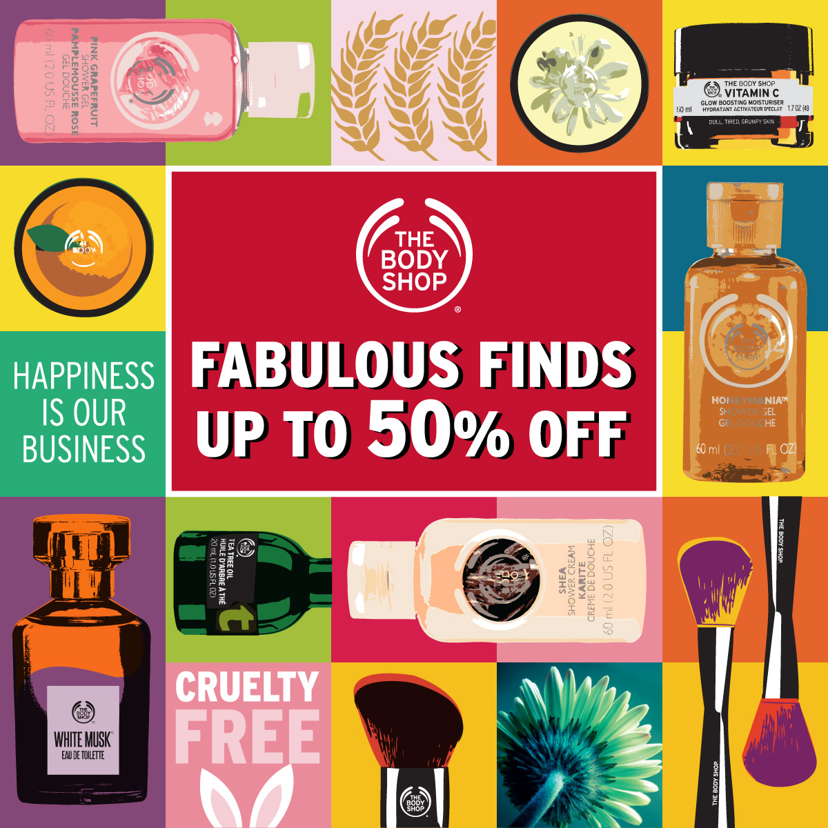 The Body Shop March 2017 Highlights !