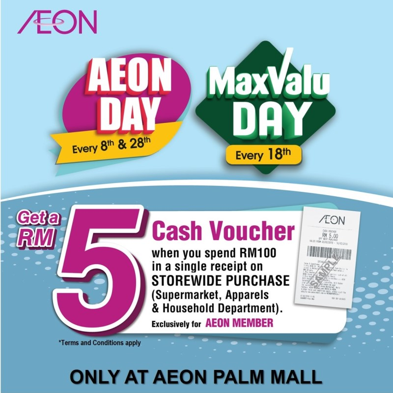 MaxValu Day Promotion