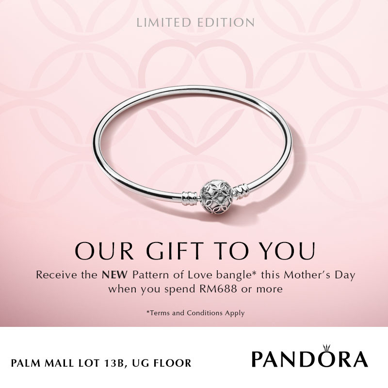 PANDORA Mother's Day Promotion