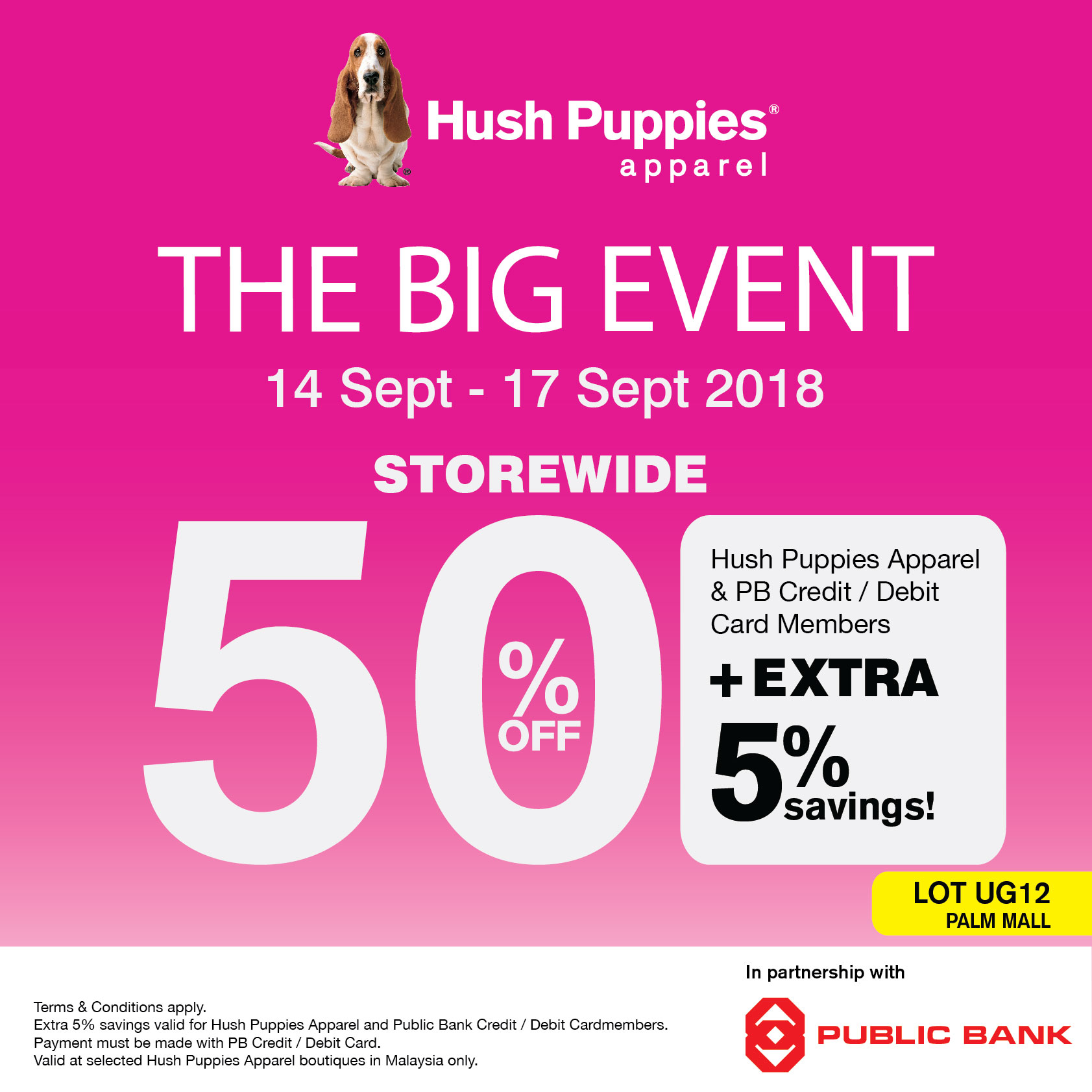 Hush Puppies THE BIG EVENT