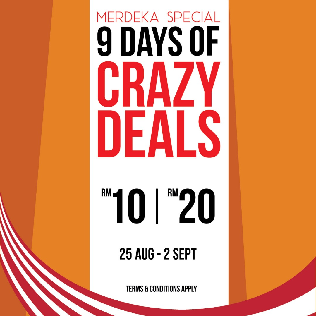 """9 Days of Crazy Deal"""