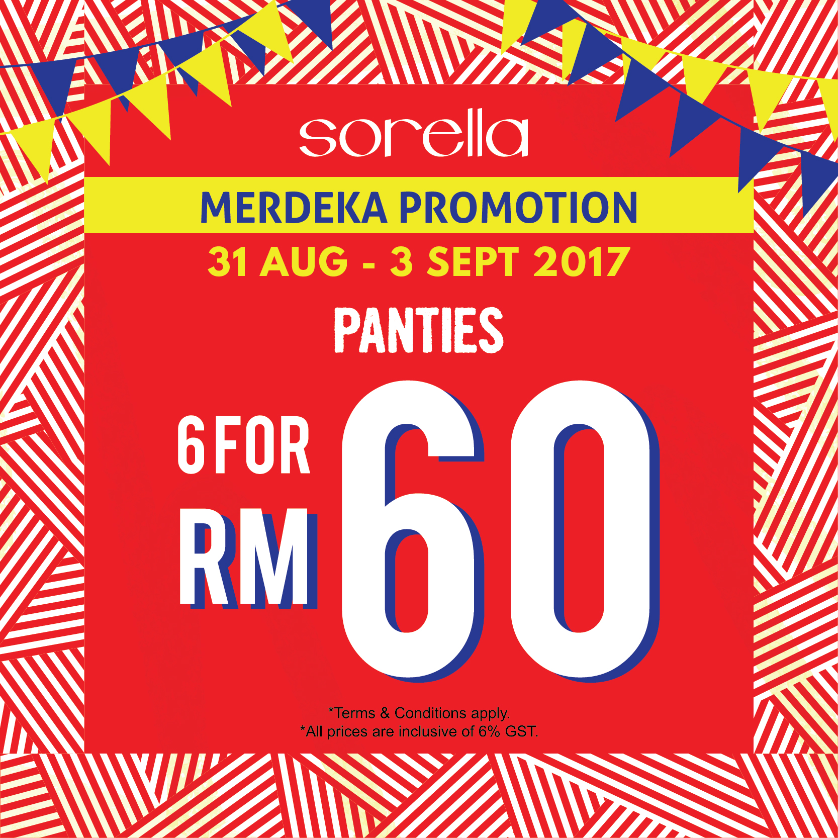 Sorella Merdeka Promotion