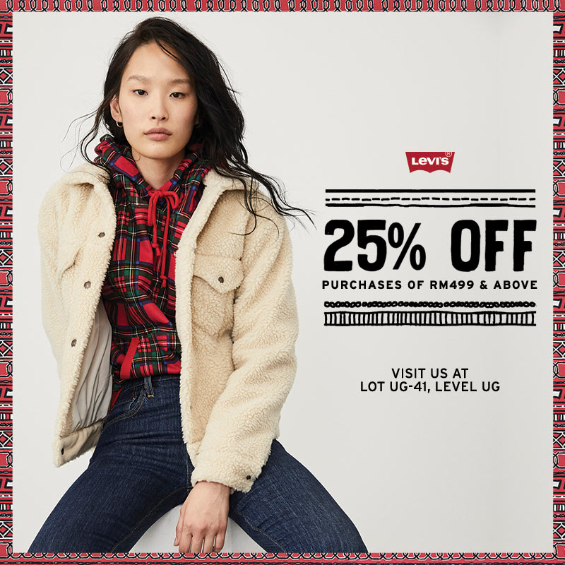 Levi's(R) Holiday Promotion