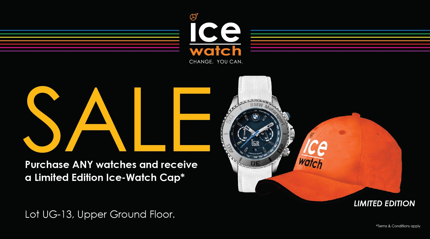 LIMITED EDITION Ice-Watch Cap