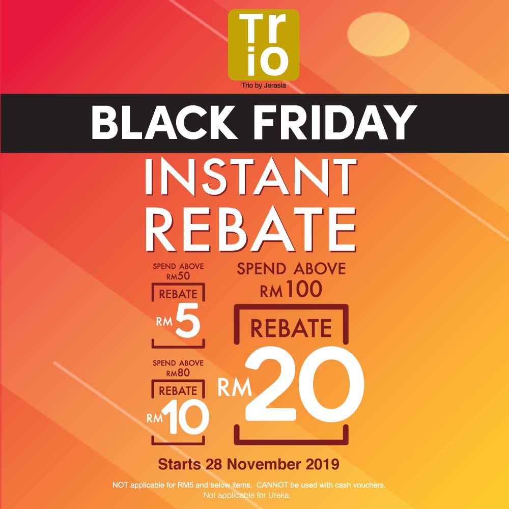 Trio Black Friday Promo