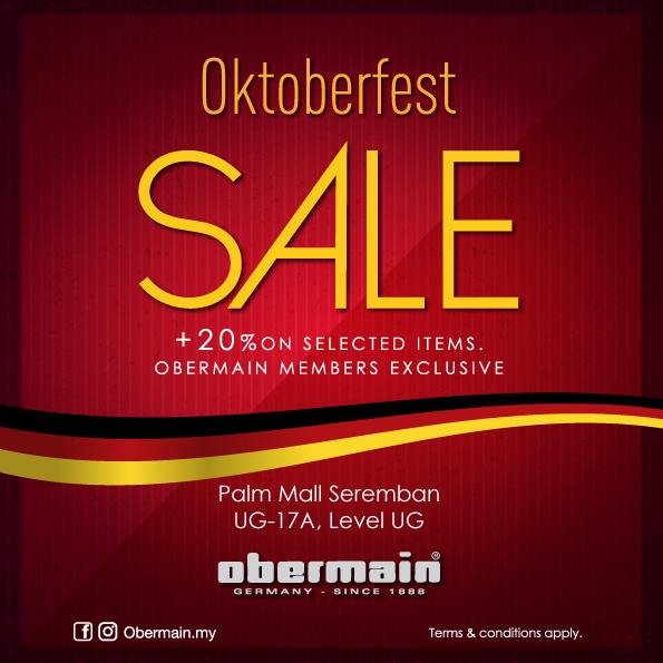 Obermain Oktoberfest Sale