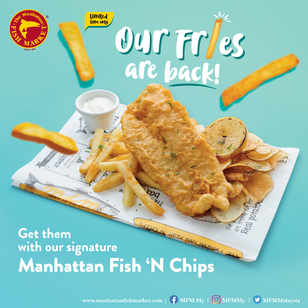 Our Fries Are Back!