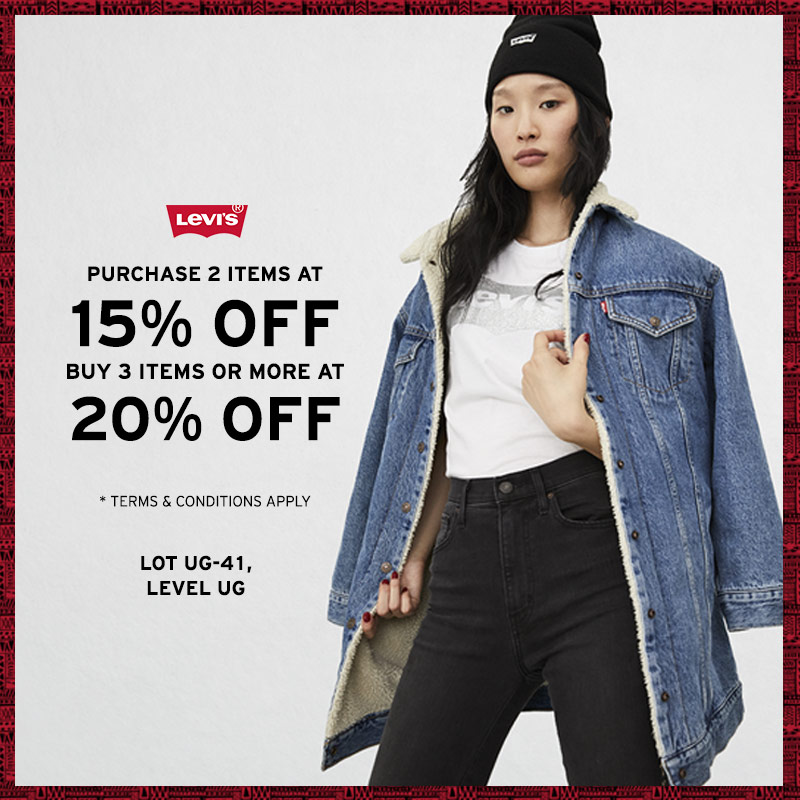 Levi's® School Holiday Promotion
