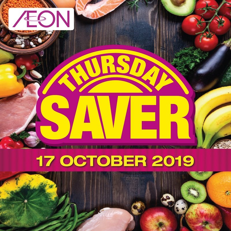 AEON Thursday Saver Promotion