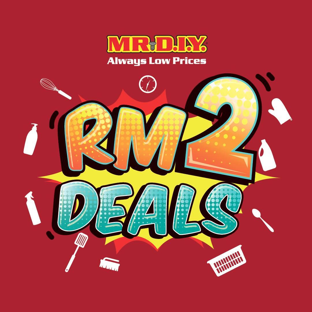 MR DIY: RM2 Deals
