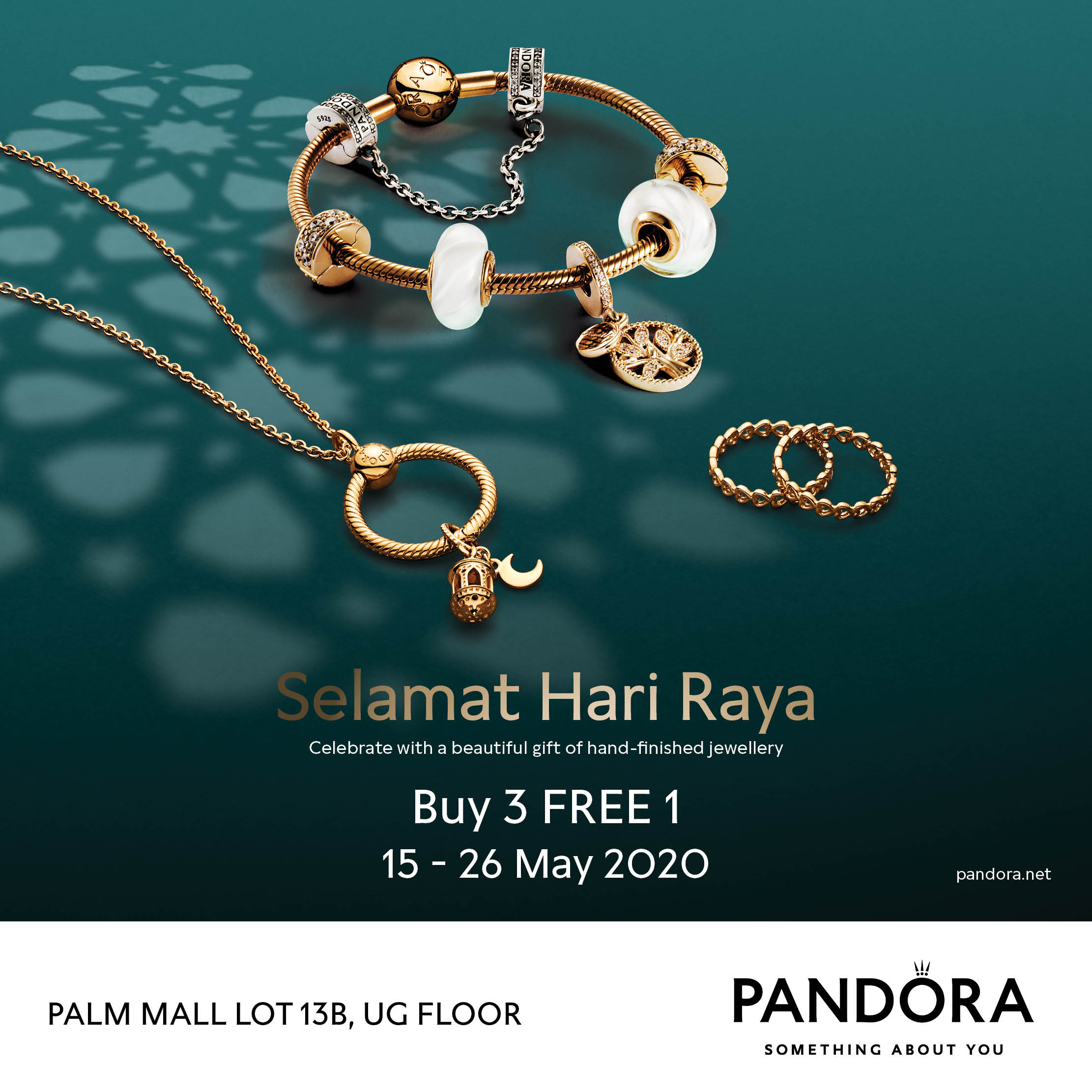 Pandora Raya Promotion