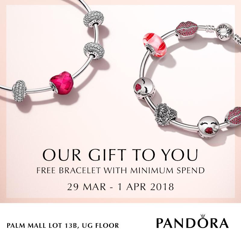 PANDORA Bracelet Promotion