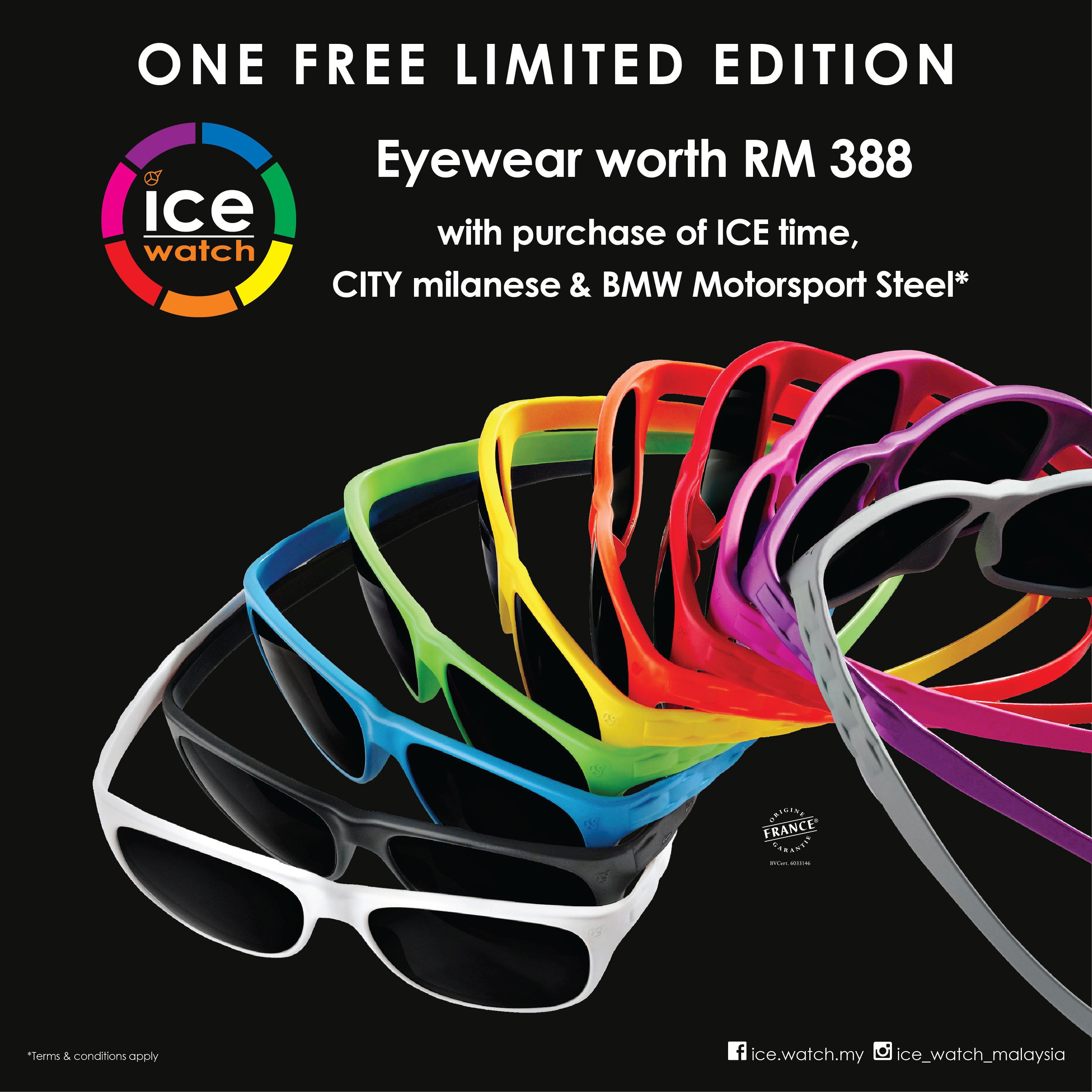 Limited Edition Ice-Watch Eyewear