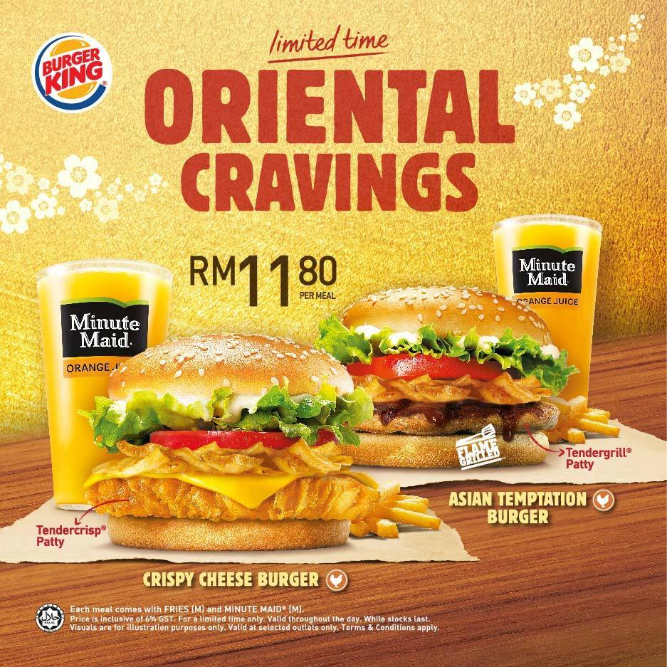 Limited Time Oriental Cravings