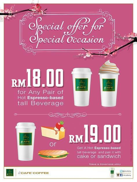 dr.CAFE Coffee Promotion