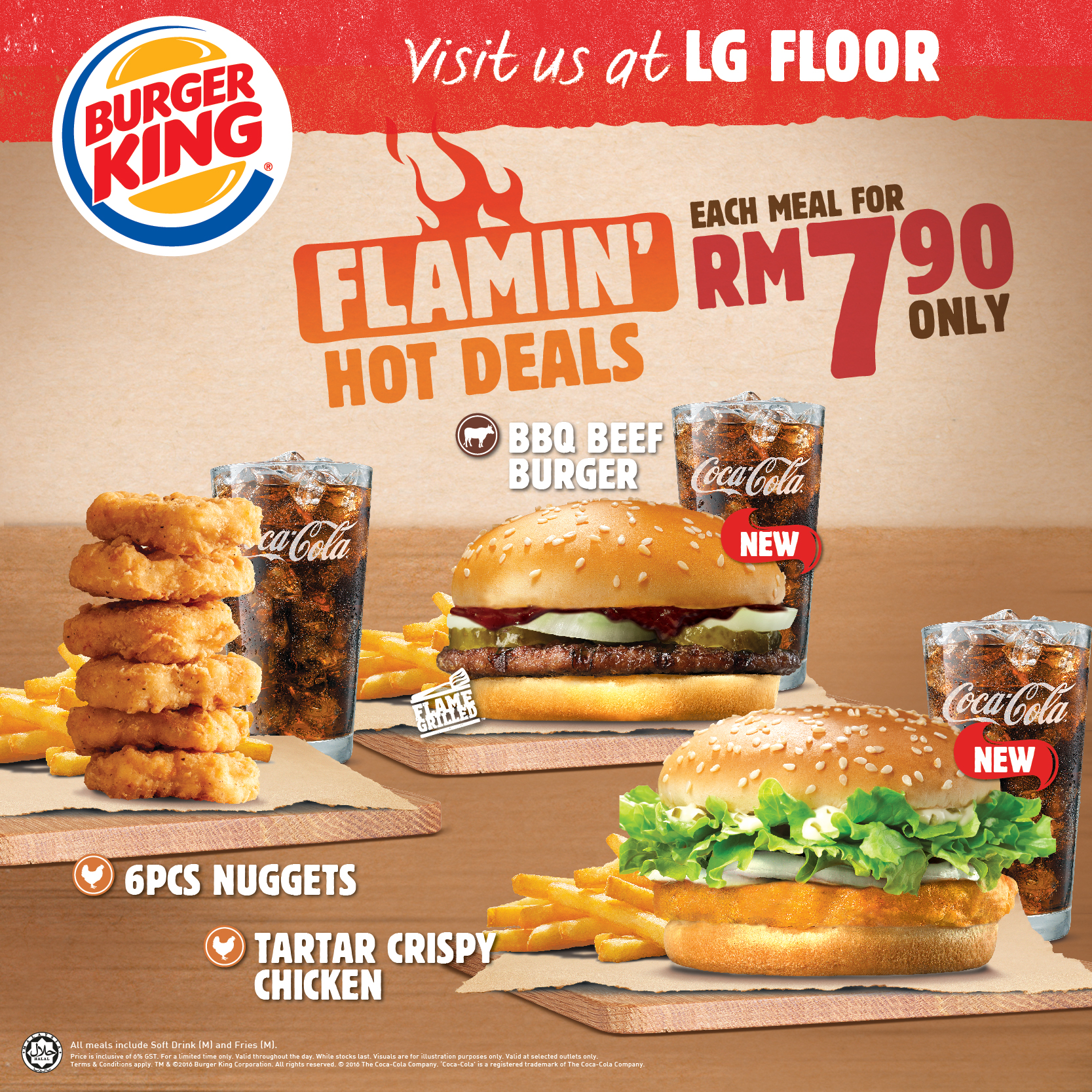 New Flamin' Hot Deals