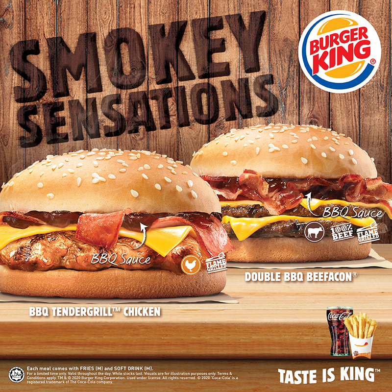 Burger King Smokey Sensations