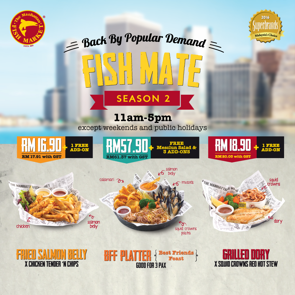 Fish Mate Lunch Promo