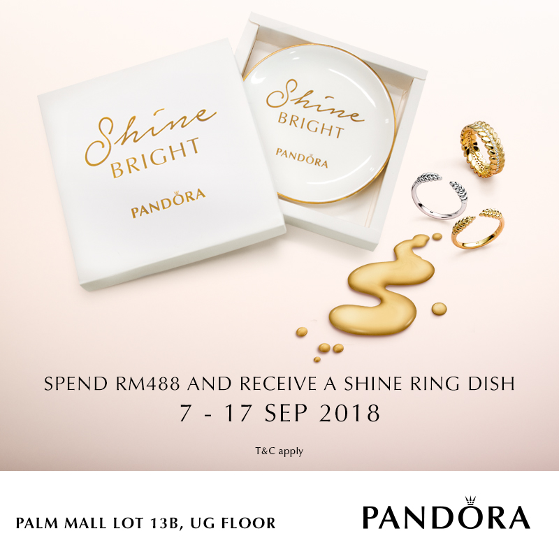 PANDORA Ring Dish Promotion