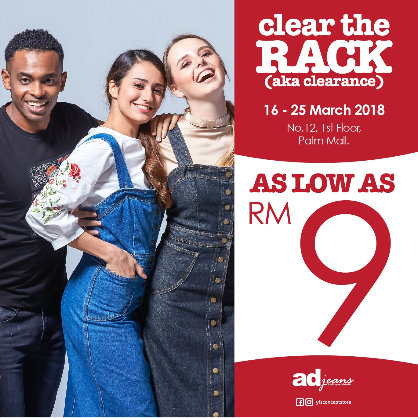 AD Jeans : Clear The Rack
