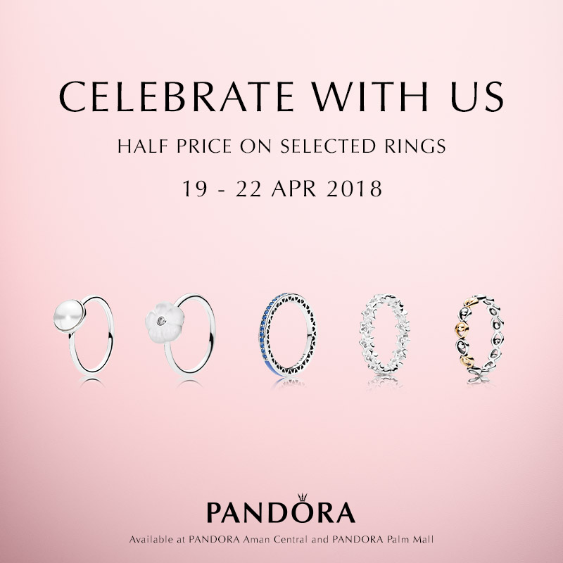 PANDORA Anniversary Promotion at Palm Mall