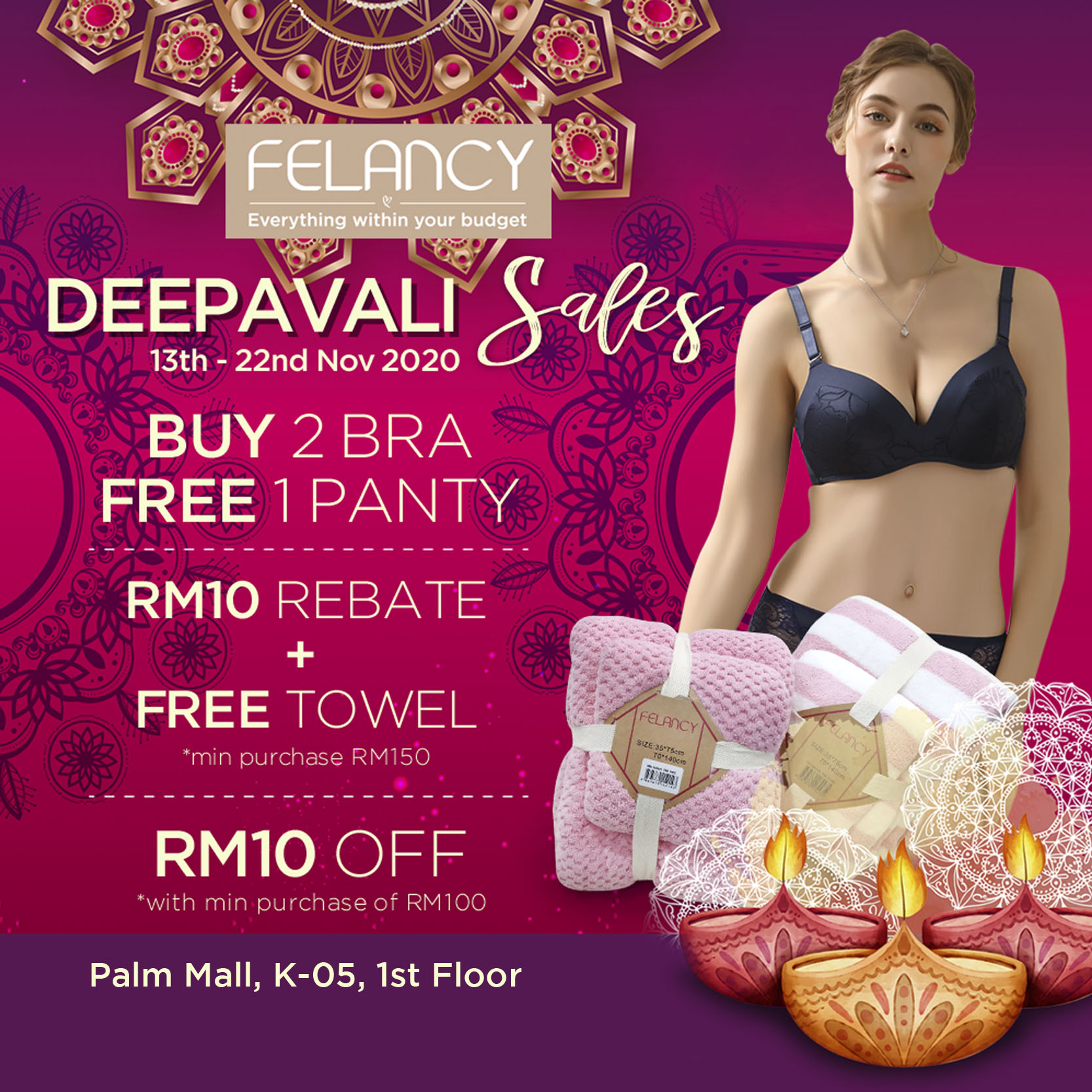 Feelancy Deepavali Sales