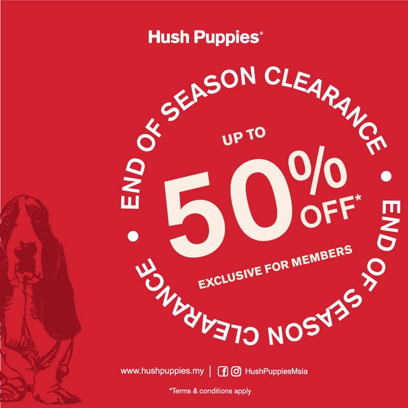 Hush Puppies End of Season Clearance