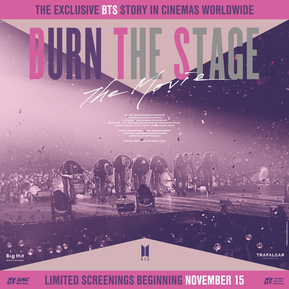GSC Exclusive Screening of Burn The Stage