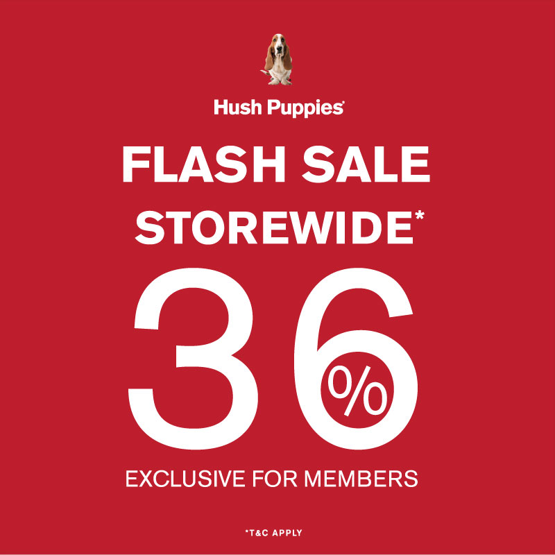 Hush Puppies - Flash Sales
