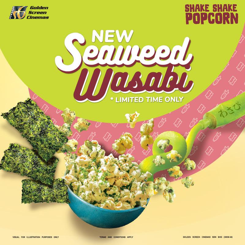 GSC Shake-Shake Popcorn Seaweed Wasabi