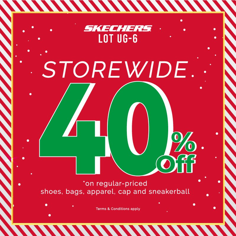 Skechers 40% Off