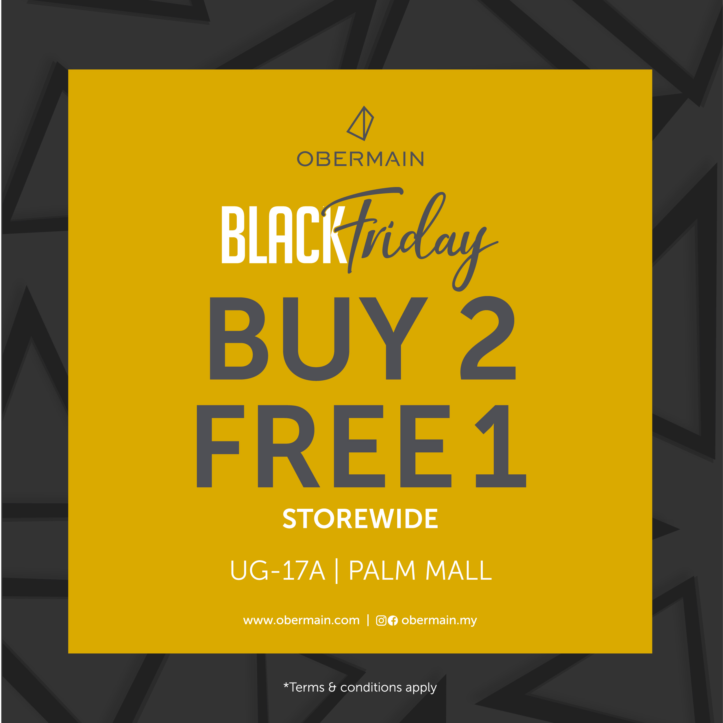 Obermain Black Friday