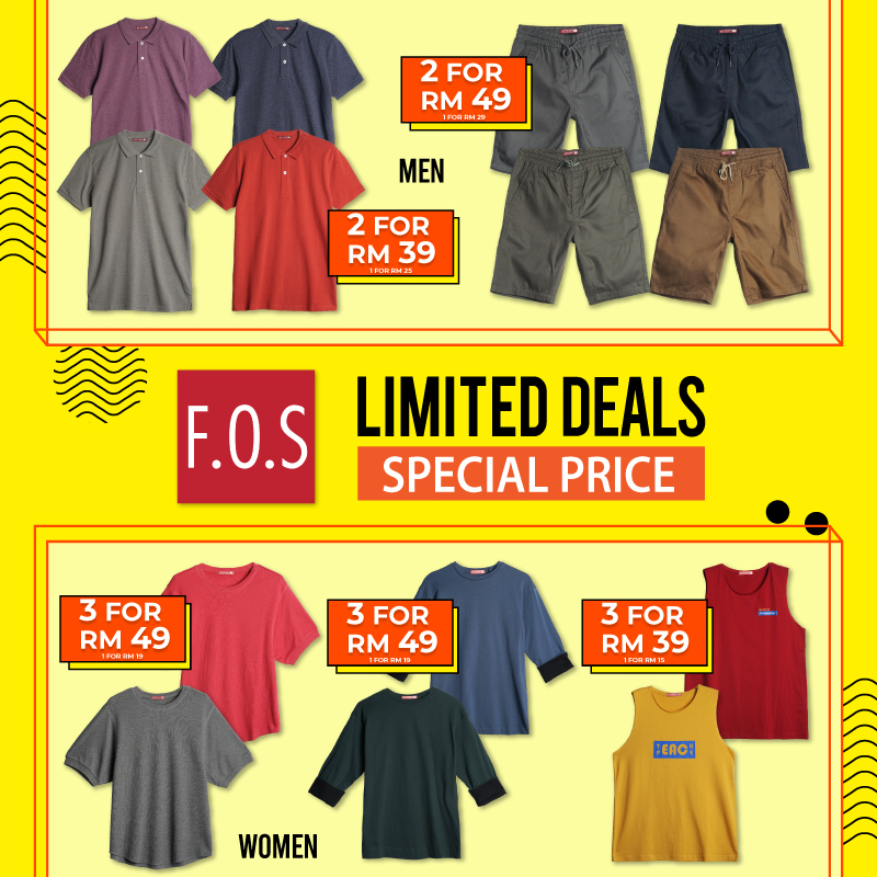 F.O.S Limited Deals