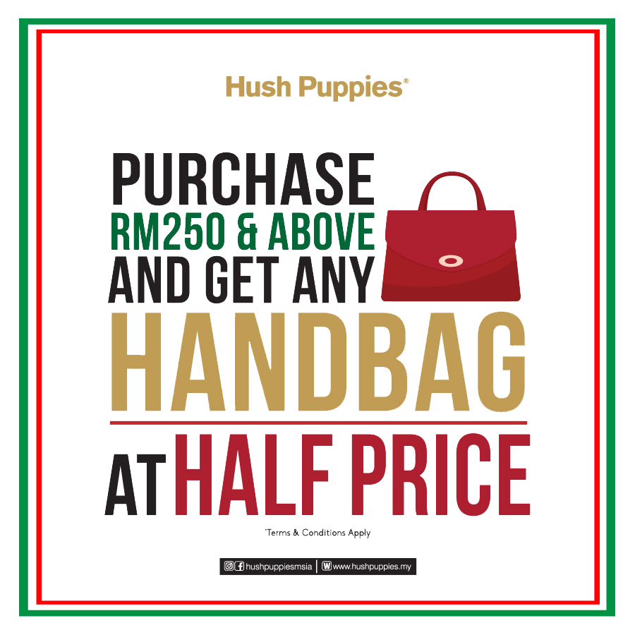 Hush Puppies December Promotion
