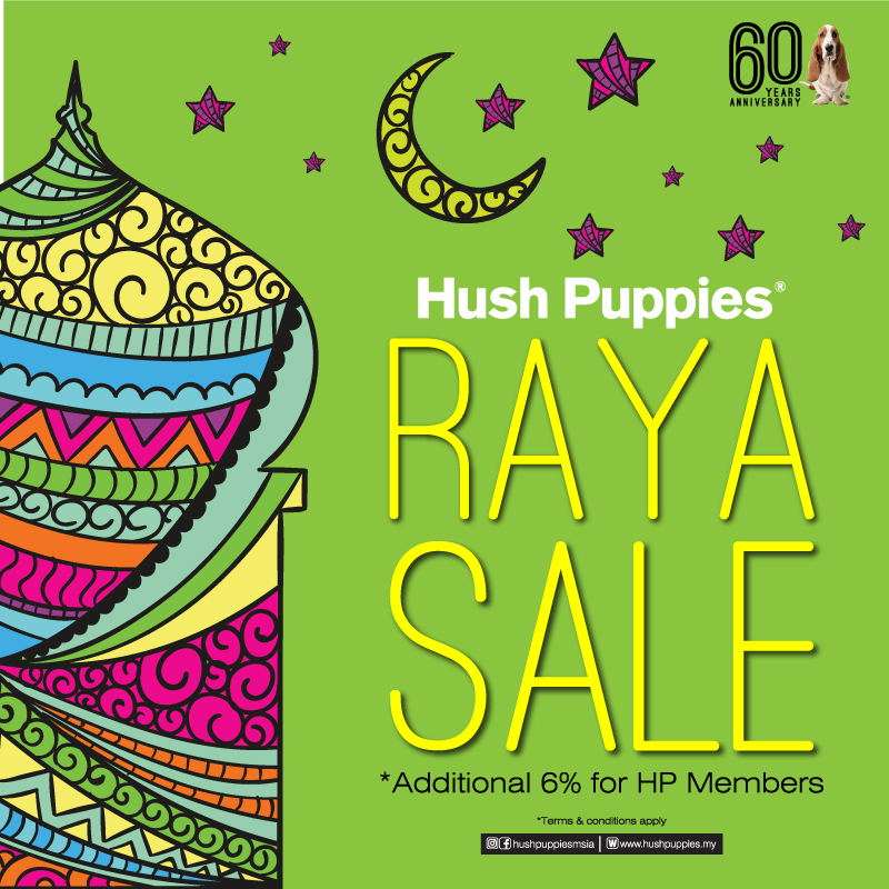 Hush Puppies Raya Promo