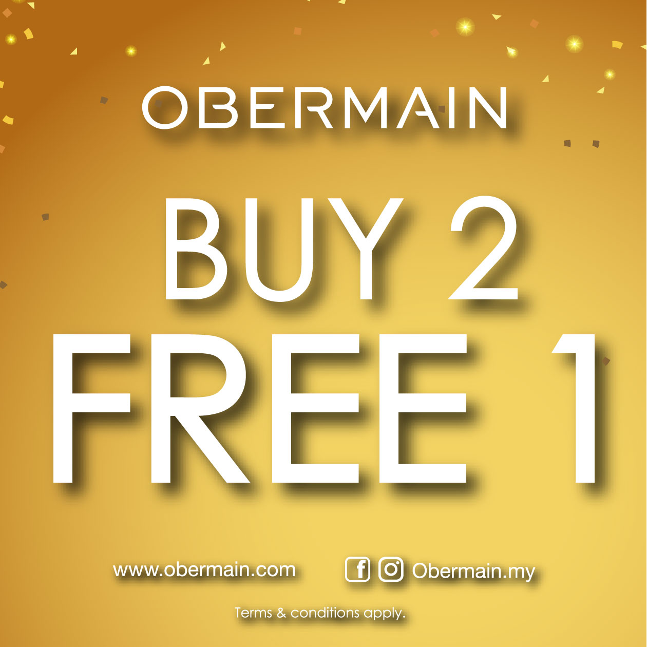 Obermain Special Promotion