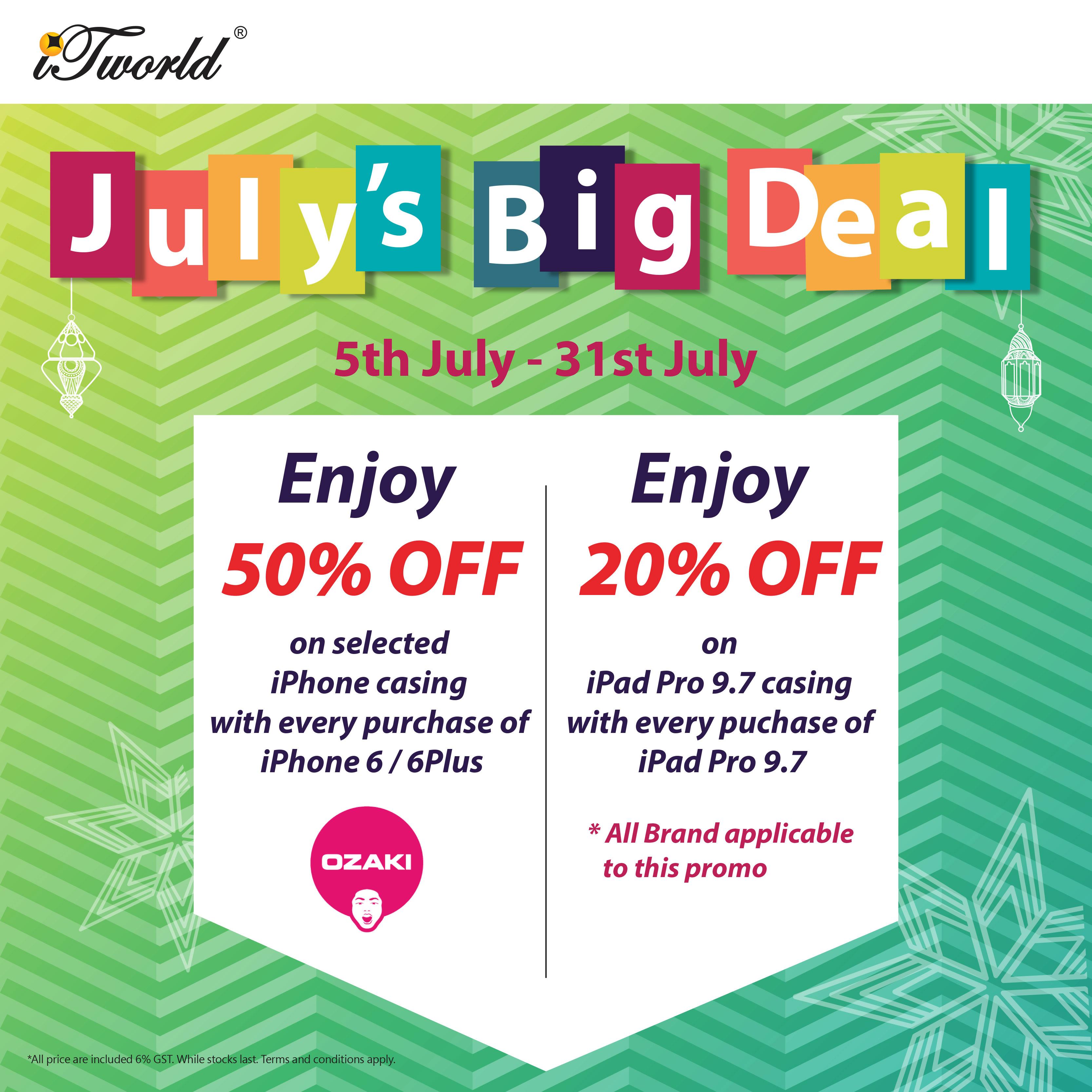 July's Big Deal!