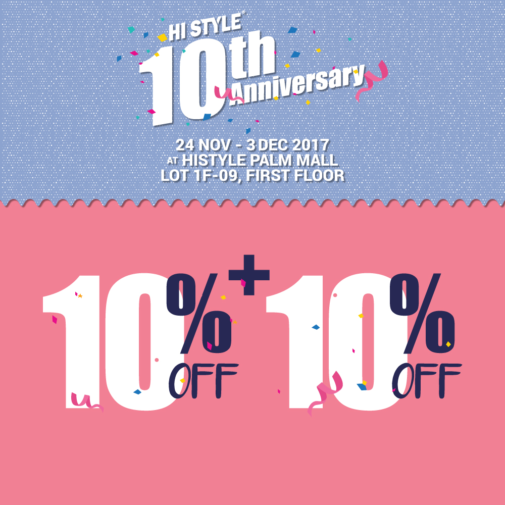 10th Anniversary Promotion