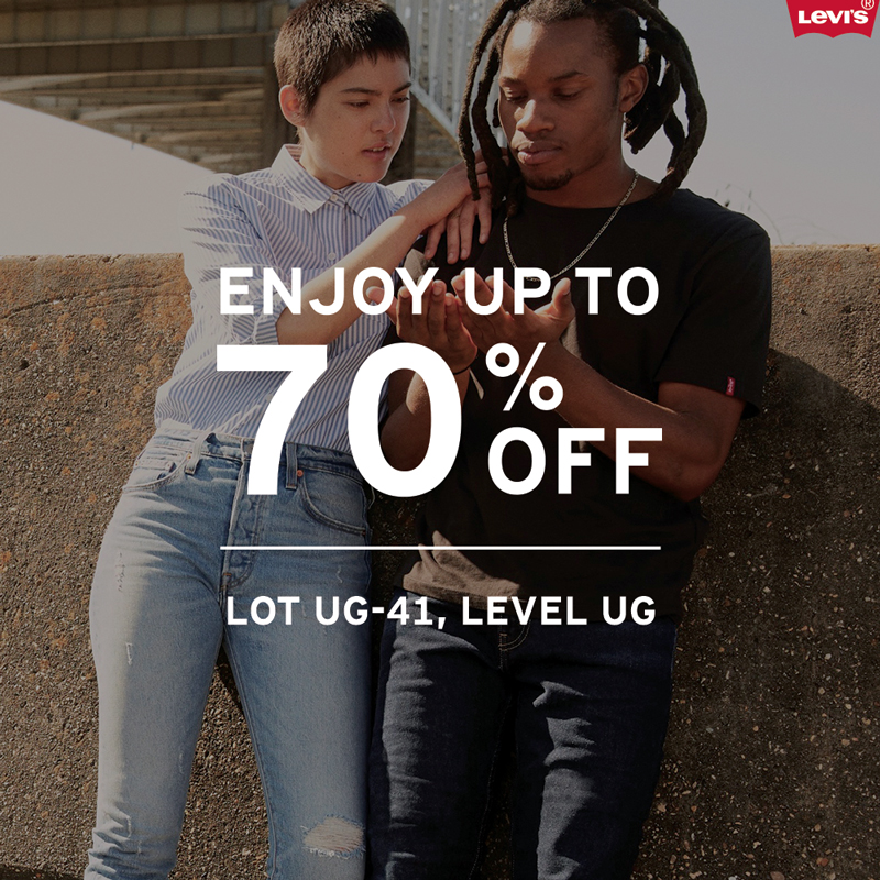 Levi's August End of Season Sale