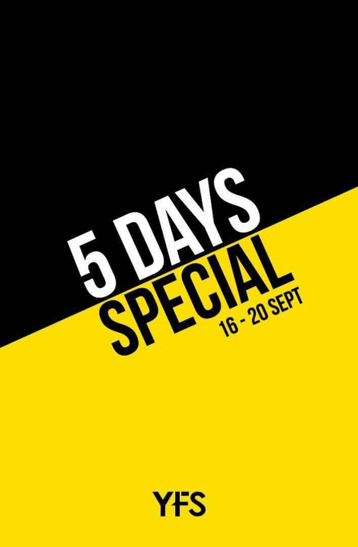 Ad Jeans 5 Days Special