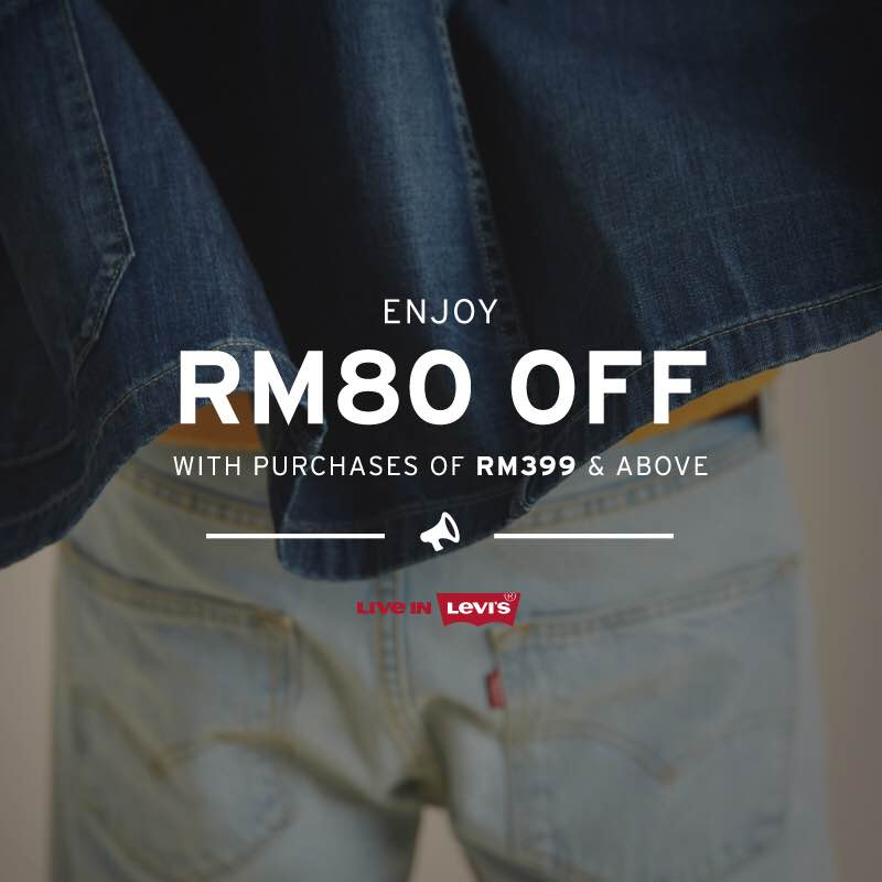 Levi's October Special