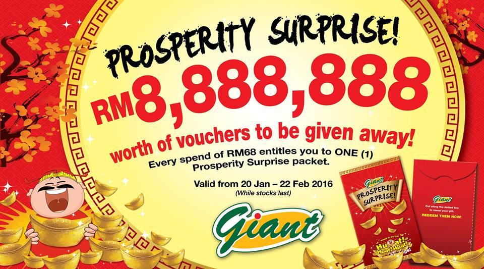 Prosperity Surprise!