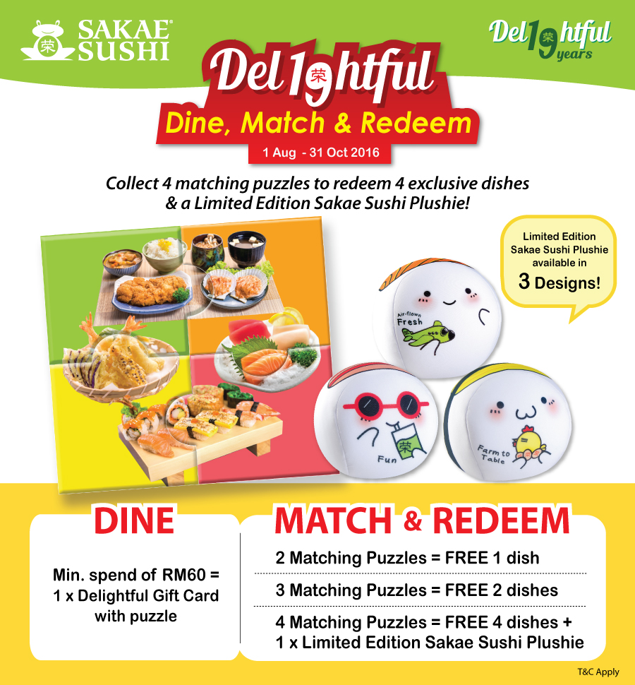 Delightful Dine, Match & Redeem