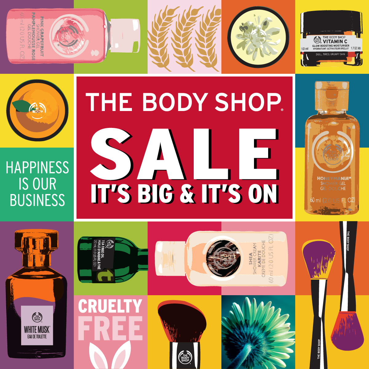 The Body Shop August 2017 Highlights
