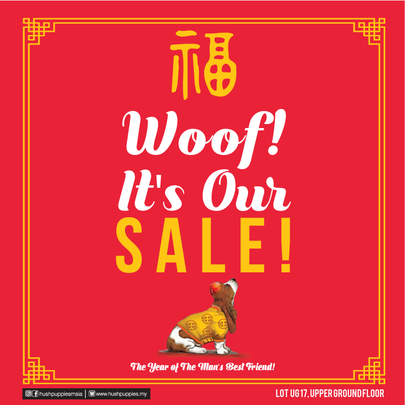 Hush Puppies CNY Sale