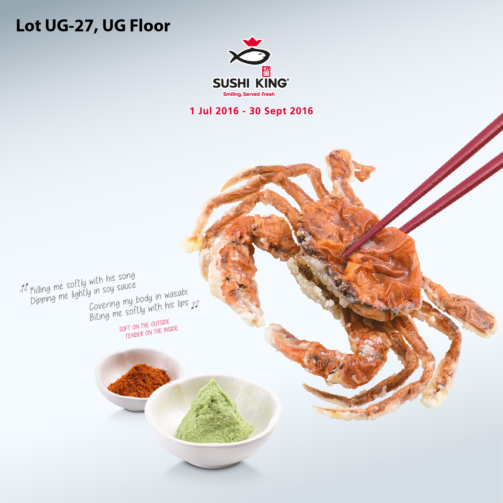Soft Shell Crab Promotion