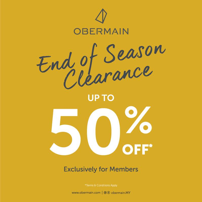Obermain End of Season Clearance
