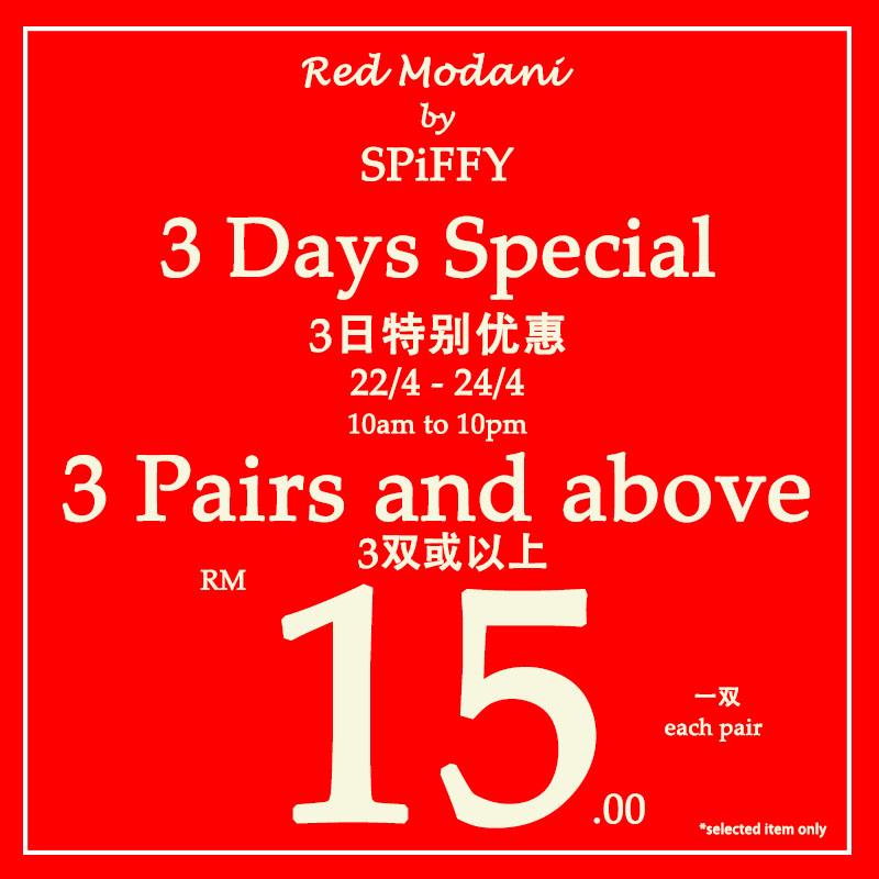 Red Modani 3-days Special