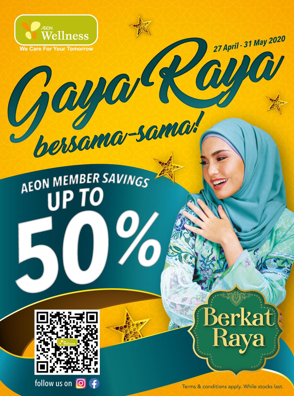 Gaya Raya With Aeon Wellness