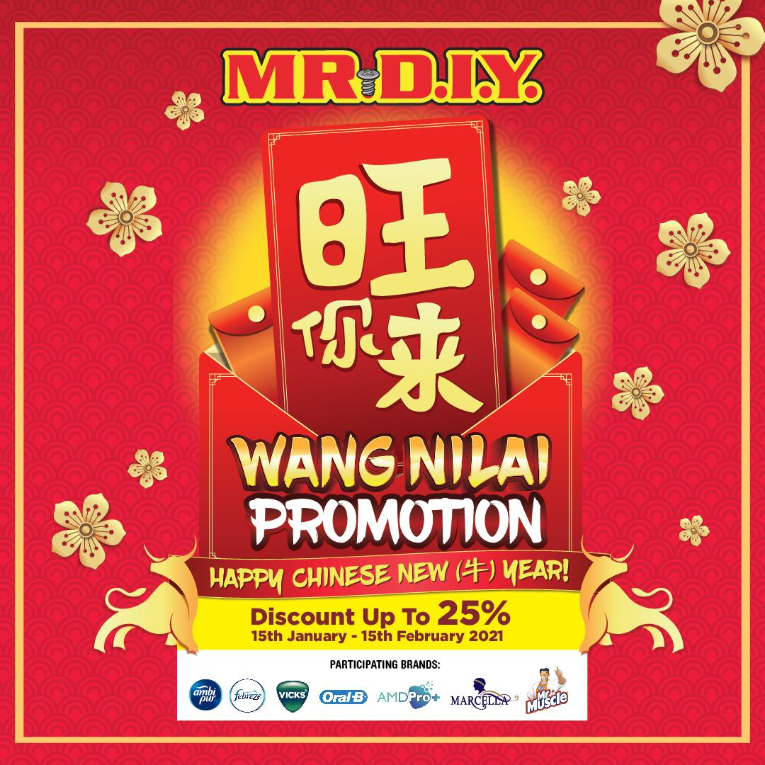 MR DIY Wang Nilai Promotion